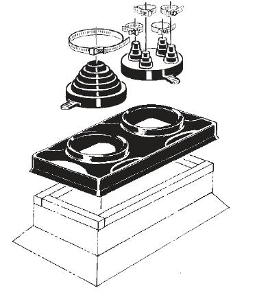 Double Pipe Portal With C 126 And C 212 Caps Portalsplus