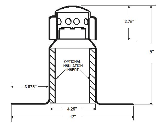 Aluminum Vent Dimensional