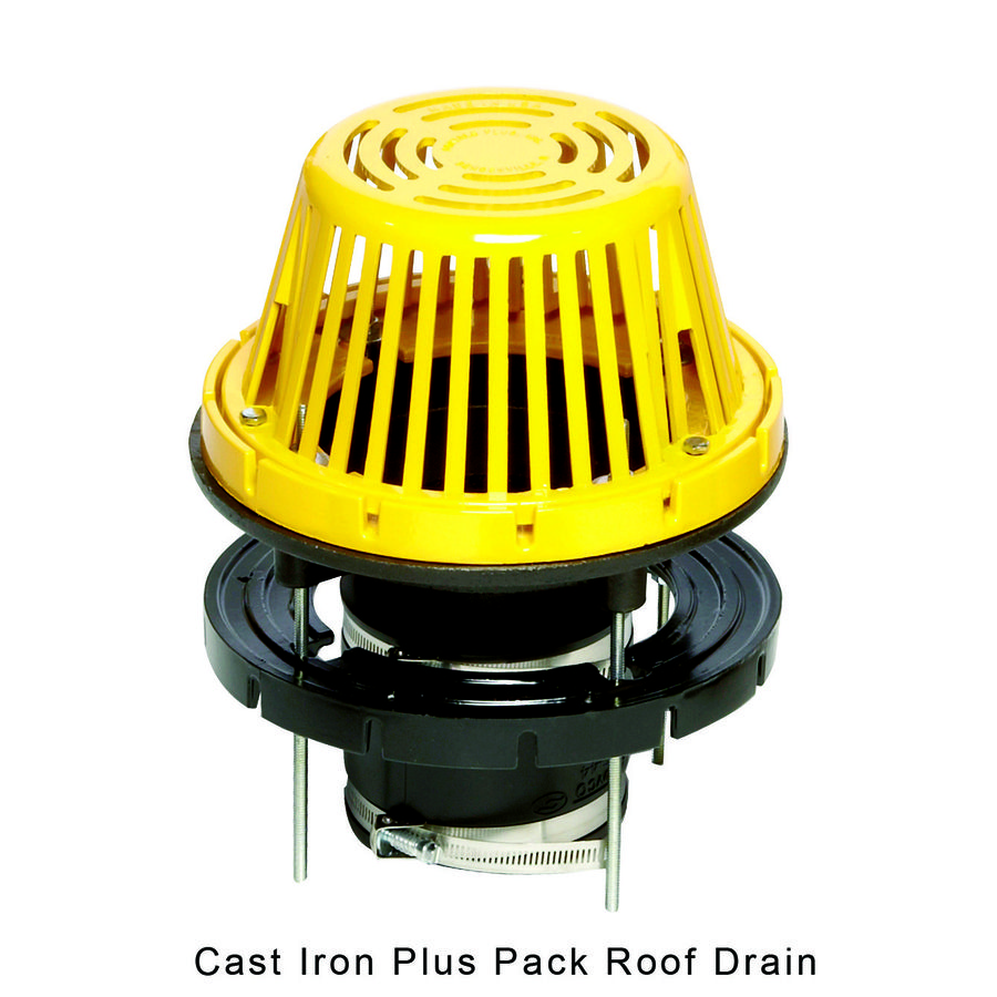 Cast Iron Plus Pack Roof Drain