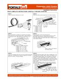 z - Cover Image: Straight Flange Roof to Wall Installation Instructions